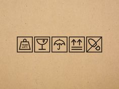 Shipping Container Icons designed by Joshua Gille. Connect with them on Dribbble; Kraft Box Packaging, Vintage Packaging, Label Design, Box Design, Package Design, Carton Design, Furniture Packages, Artist Logo, Photo Packages