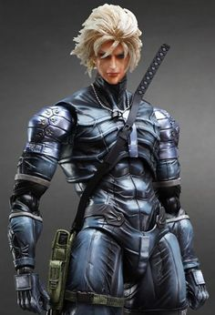 Square Enix Play Arts Kai Metal Gear Solid 2 Sons of Liberty Raiden Action Figure  featured on Jzool.com