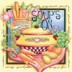 Three Healthy Soup Recipes For Weight Loss French Soup, Food Clipart, Recipe Scrapbook, Printable Recipe Cards, Scrapbook Embellishments, Decoupage Paper, Country Art, Kitchen Art, Food Illustrations