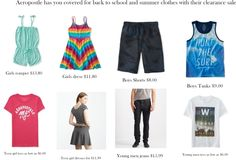 Two Mom Deals: Aeropostle Clearance Sale