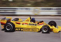 1979 Spanish Grand Prix ATS D2 Hans-Joachim Stuck