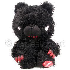 Gloomy Bear Plush : Space Invaders Black - <p><!-- miva_nodisplay //-->