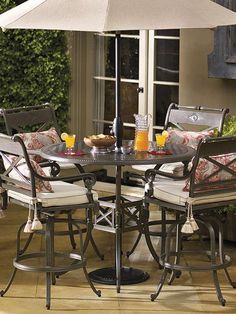 The Carlisle Bar Seating in Slate Finish provides you with a comfortable place to dine and socialize with guests while enjoying your outdoor space.