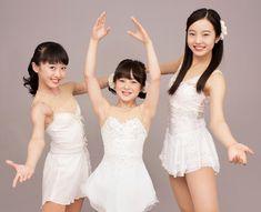 CM初共演を果たした(右から)本田真凜、紗来、望結の3姉妹