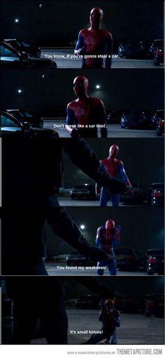 L'humour et le sarcasme d'Andrew Garfield dans les deux derniers Spiderman m'ont fait aimer à nouveau ce superhero. Great movies.