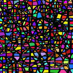 Stained Glass Abstract