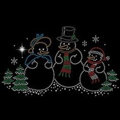 SNOW MAN WOMEN TEE SHIRT T SM - 3XL SHORT OR LONG SLEEVE CHRISTMAS RHINESTONE #VARIOUS #YOURCHOICESHORTORLONGSLEEVETEE #Casual