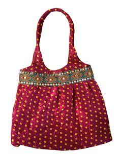 Designer Silk Bandhni