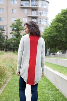 Make it Red Cardi - Knitting Patterns and Crochet Patterns from KnitPicks.com by Ann Weaver