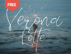 """Check out this @Behance project: """"VERONA LOTTE - FREE BRUSH FONT"""" https://www.behance.net/gallery/55135279/VERONA-LOTTE-FREE-BRUSH-FONT"""