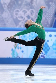 Jason Brown of the United States competes in the Men's Figure Skating Men's Free Skate during day one of the Sochi 2014 Winter Olympics at Iceberg Skating Palace on February 9, 2014 in Sochi, Russia.