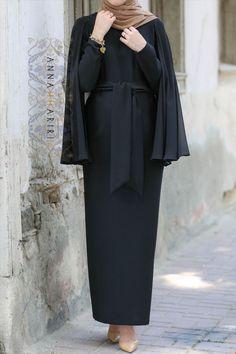 Beige Cape Dress