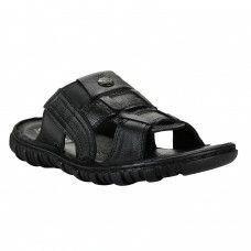 72bc39e6c Black Slipper for Men - Buy Online Black Slipper for Men Rugged