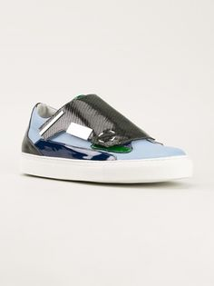 Shop RAF SIMONS stylised sneakers from Farfetch