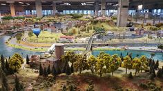 The Kingdom of Railways Interactive model of railway the biggest in the Czech Republic Prague  #prague #travel #afternoon #kingdom #railway #kingdomofrailways #train #interactive #model #andel #smichov #galaxys6