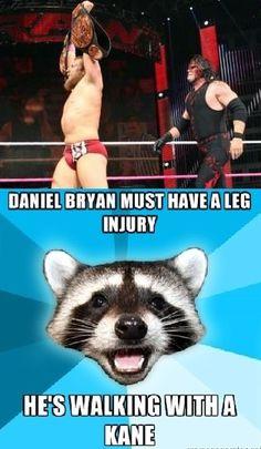 Haha, lame joke - WWE