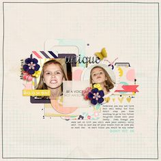 Materials used: 1. Be A Voice Kit by Amanda Yi Designs & Lauren Grier 2. Quirky Love Templates by Two Tiny Turtles