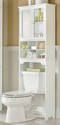 bathroom furniture six cubby space saver fits over a toilet to greatly increase your bathroom storage space buy now pay later credit shopping at seventh - Bathroom Cabinets That Fit Over The Toilet