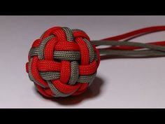 3 Minute Paracord Dragonfly - YouTube