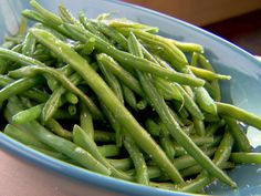 Fresh Green Beans (a.k.a Tom Cruise Green Beans) from FoodNetwork.com