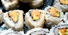 Spicy Vegan Sushi Roll...yes please!!!!