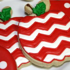 Love these Chevron apples!!