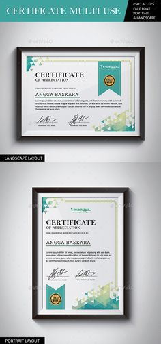 certificate multi use certificates stationery