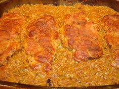 A sütőben készült ételek egyik legjobbja, ebből nem lehet túl sokat készíteni, a siker garantált :) Hozzávalók: 6 szelet sertéskaraj 1 fej káposzta 1 kisebb hagyma fél citrom 0,5 dl száraz fehérbor 1 teáskanálnyi tárkony só, őrölt... Hungarian Recipes, Meat Recipes, Mashed Potatoes, Macaroni And Cheese, Banana Bread, Health, Ethnic Recipes, Desserts, Gastronomia