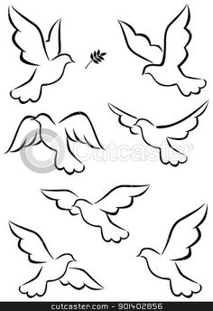 white dove symbol - Google Search
