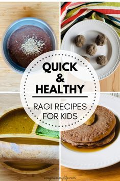 10 Healthy Ragi Recipes For Babies And Toddlers. Easy and quick toddler meals and snacks. Easy Toddler Snacks, Healthy Toddler Meals, Easy Snacks, Kids Meals, Baby Food Recipes, Indian Food Recipes, Sweet Recipes, Snack Recipes, Nutritious Snacks