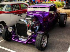 Purple Ford Roadster Love it!