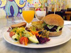 A vegan brunch from Juicy Jones in Barcelona