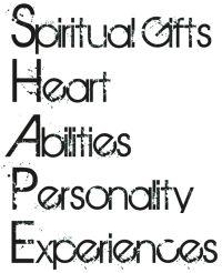 Rick Warren: SHAPE Spiritual Gifts, Heart, Abilities, Personality, Experiences