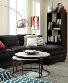 132 best design style images macys sectional fabric sectional rh pinterest com
