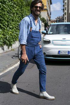 Galeria de Fotos Os looks de street style da temporada masculina Verão 2016 // Foto 30 // Notícias // FFW
