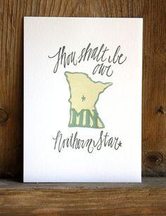 Items similar to Minnesota Letterpress State Print // // Hand illustration on Etsy Minnesota Home, Minnesota Twins, White Bear Lake, Lake Signs, Hand Illustration, Illustrations, Letterpress Printing, Minneapolis, Artsy