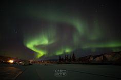 Aurora Boreal Novembro – Uma grande atividade aurora.