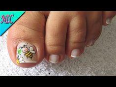 DECORACIÓN DE UÑAS VINTAGE♥ - FRANCÉS nail art♥ - VINTAGE ROSES nail art - NLC - YouTube Nail Art Vintage, Butterfly Nail Art, Pedicure, Nail Designs, Lily, Youtube, Google, Nail Ideas, Work Nails