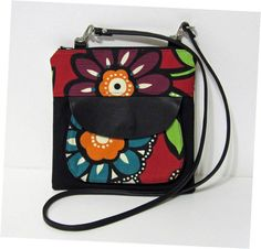 Handmade Leather Crossbody Hipster Bag by ColorMeDesigns on Etsy, $48.99