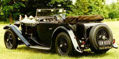 Bentley 4 Litre, 1931, #VA4098, Vanden Plas 2-door 4-Seater Tourer