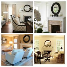Mirror, Mirror On The Wall: 8 Fireplace Decorating Ideas