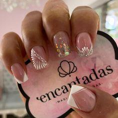 Elegant Nail Art, Magic Nails, Toe Nail Designs, Super Nails, Cute Acrylic Nails, Nail Decorations, Nail Spa, French Nails, Makeup Organization