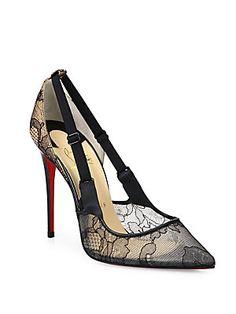 d79e9e131dd Christian Louboutin - Hot Jeanbi 100 Lace Point Toe Pumps. Pointed Toe  PumpsHigh Heel PumpsHeelsSpecial DressesLouis Vuitton ...