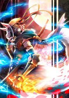 Fire Emblem: If/Fates - Asugi Its official, I'm making Asugi a Dread Fighter just because of this art!