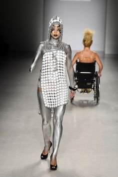 Models With Disabilities Work The Catwalk At New York Fashion Week