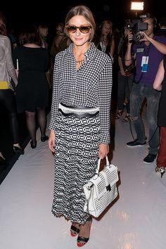 Front Row semanas de la moda Nueva York primavera verano 2014