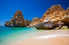 Praia da Marinha: one of the Algarve's best known pin-ups. Image by Lucyna Koch / E+ / Getty
