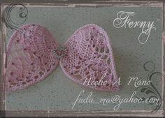Para sesion de fotos de Recien Nacida / For New Born photos.  Alas de Angel / Angel Wings  Crochet Angel Wings with Bling Crystal Pink and Heart Pendent / Alas de Angel tejidas a Crochet con Cristal Rosa y Dije de Corazon.