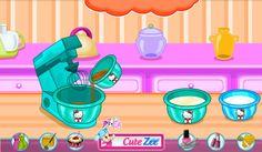 Cocinar pasteles con Hello Kitty