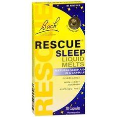 Bach Rescue Sleep Liquid Melts, Capsules - 28 ea #sleepapneacauses